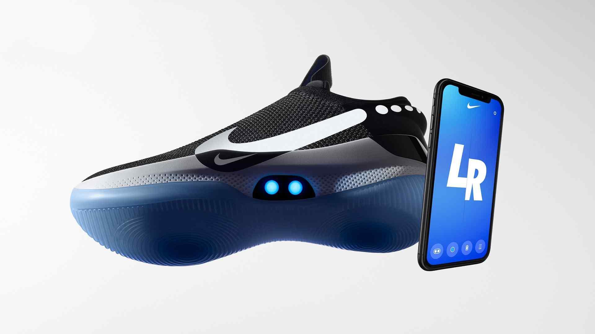 Im Selbst Nike Schnüren Adapt Bb Sich Sneaker Bluetooth Schuh OiZPkXu